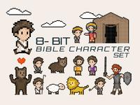 8-bit Bible Characters