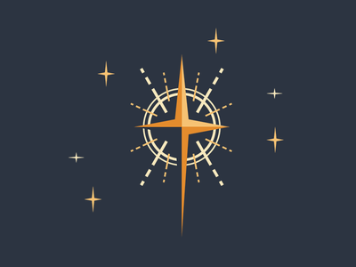 Stars star illustration vector bethlehem night christmas design
