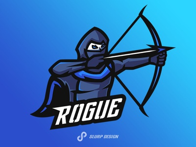 Rogue E-sport Logo icon design logo branding vector illustration sport sports esportslogo esportteam twitch stream adobeillustrator gaming esport logo esports esportlogo esport