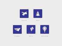 Flying badges