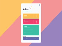 Front page for Alias