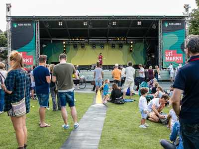 Uitmarkt 2016 design grapic amsterdam uitmarkt 3d podium