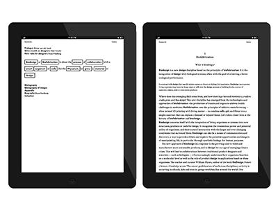 Form Follows Organism e-book publishing publication hybrid design graphic book ebook e-book