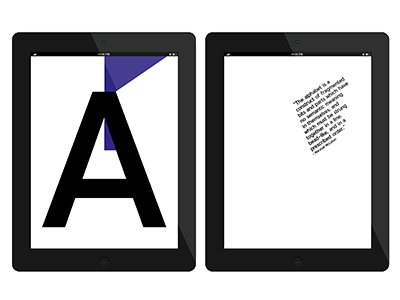 Alphabet week dutch publishing publication hybrid design graphic book ebook e-book