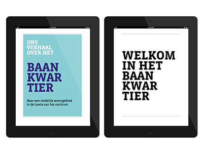 Baankwartier ebook publishing publication hybrid design graphic book ebook e-book
