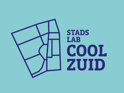Coolzuid logo typography design graphic logo rotterdam lab city