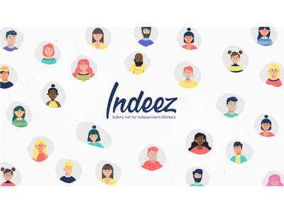 Indeez Styleframes textures vector fourplus motion design characters character design 2d animation 2d graphics storyboard animation corporate animation styleframes