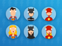 Avatars of superheroes #2