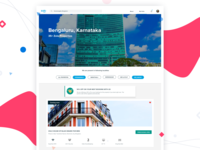 City Page Design for Real Estate