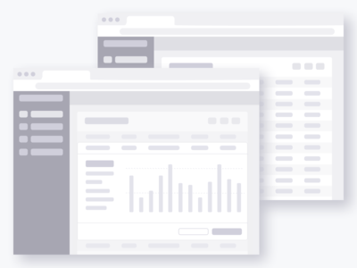 Web Software Wireframes