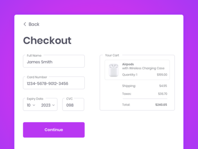 Checkout Page payment form payment flow payment credit card design credit card checkout credit card payment credit card form credit card checkout form purchase flow shopping bag shopping cart shopping purchasing purchases online shopping purchase shipping checkout page checkout