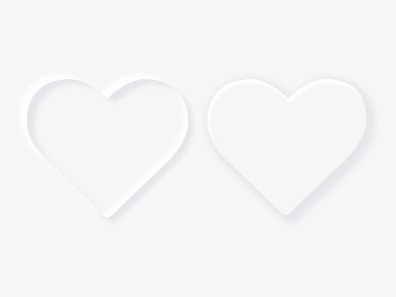 Like Unlike Neomorphism like button favorites save bookmark shadow shadows neomorphic icon heart logo hearts ui design icon design negative space favorite unlike like heart icon neomorphic icons neomorphic neomorphism