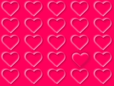 Neomorphic Hearts