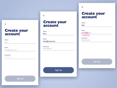 Account Creation Tutorial