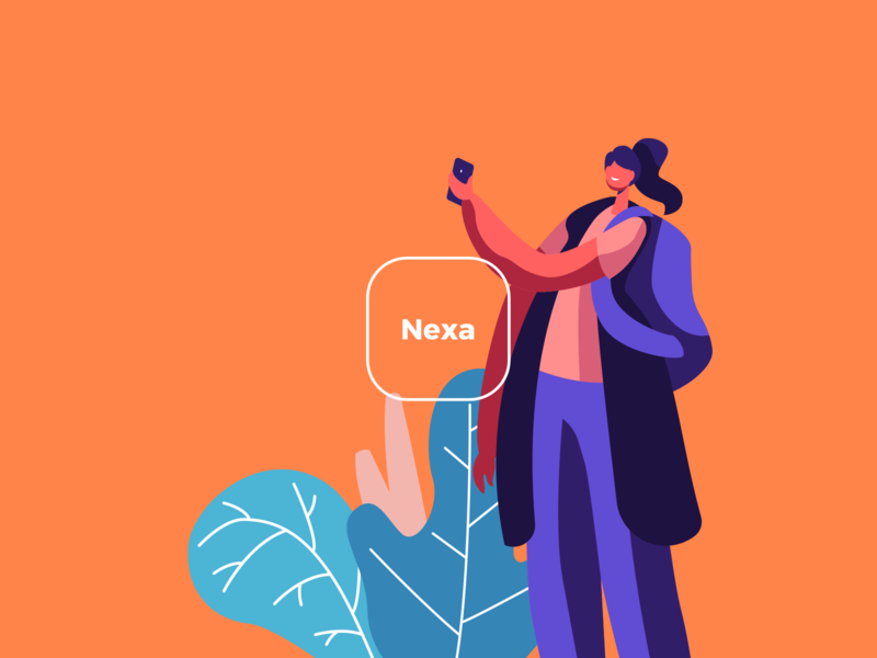 App Nexa - Splash paper guarantee invoice organize ios uxdesign uidesign product design startup fintech brazil money product mobile app design ux ui
