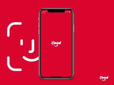 Ifood - Ordering with FaceID validation delivery ifood uxdesign product design fintech brazil startup product mobile app design ux ui