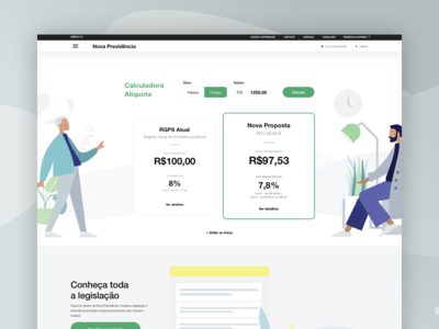 Social security calculator - Website
