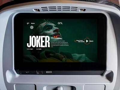GOL Inflight Entertainment - Concept Part 2 of 2 together share movie flight voo entertainment brazil product mobile app design ux ui