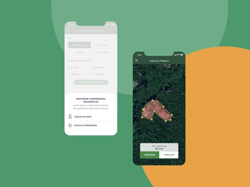 IBAMA AI-e Fiscalização - Maps maps ux user interface user experience ui product design product mobile ibama goverment gov design brazil br app