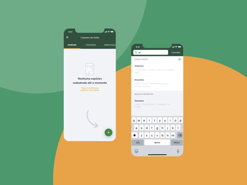 IBAMA AI-e Fiscalização - Trees product mobile ibama goverment gov design brazil br app