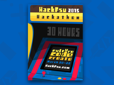 Culture Code Create create culture code seminoles fsu hackfsu hackathon hack hours arcade 90s flyer