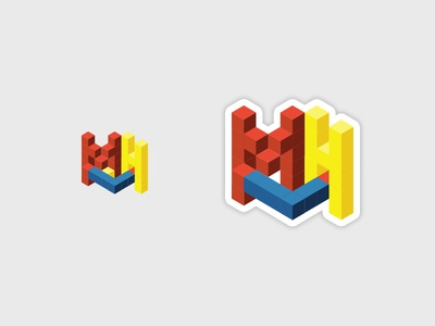 MLH h l m isometric colors primary dell hack ny mlh
