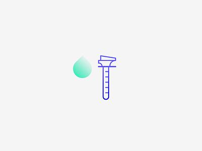 DNA test health healthcare branding design symbol iconography icon quito ecuador