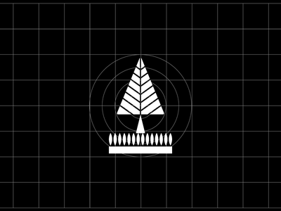 Forest icon ecuador quito mexico nature geometry tree icon a day iconography icon forest