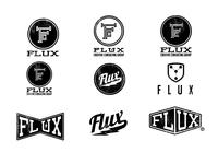 Flux Logo Treatments