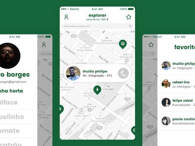 HortaLivre Mobile App