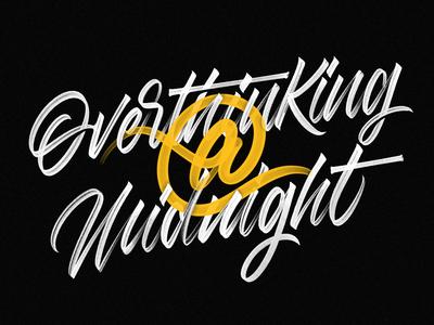 Overthinking at Midnight