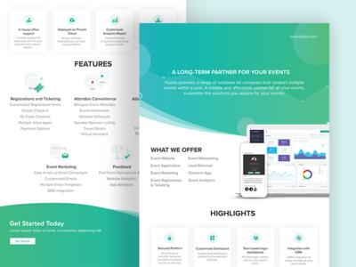 Introducing Enterprise Solution graphicicon icon theme web ui webtheme event indesign designline colorscheme