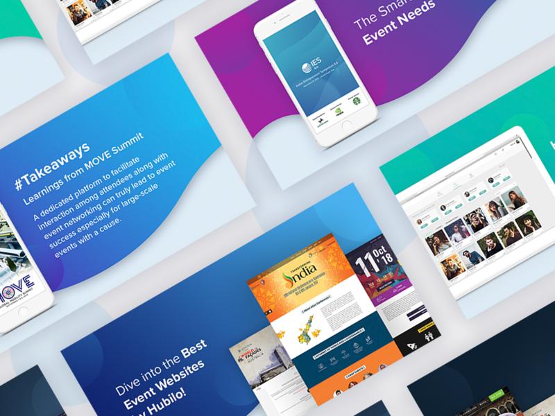 Hubilo Newsletter newsletter design designline web theme event photoshop webtheme colorscheme