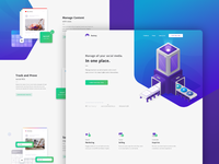 Soctory Landing Page