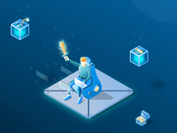Game Dev Illustration