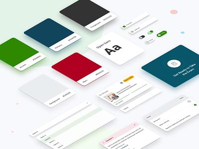 Design System for Relias design developer sandbox design language design kit branding component library design system logo illustration governance model