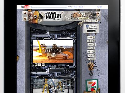 Ice Break - Add A Motor To It interface design webdesign website ux interactive websites