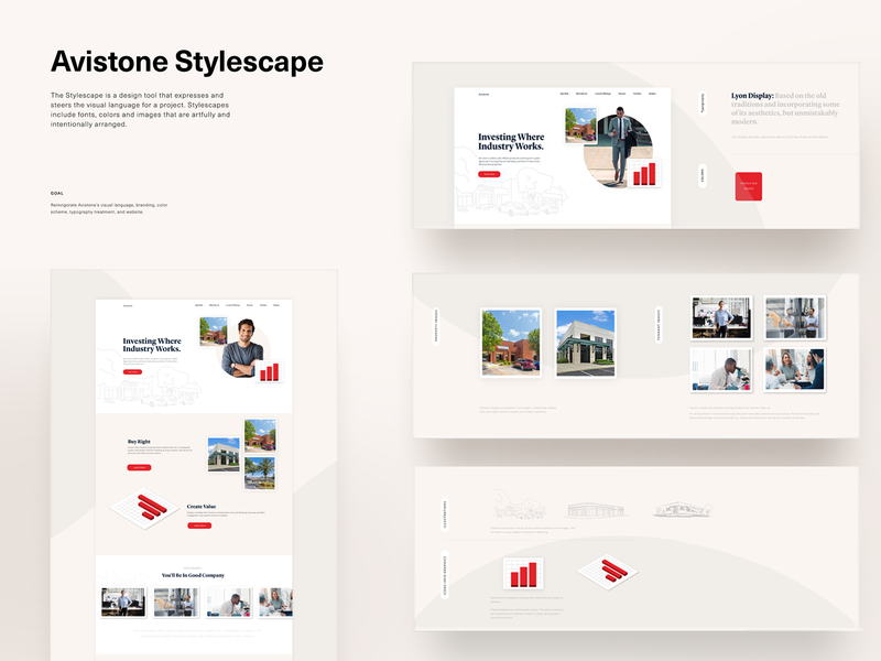 Stylescape Exploration responsive website lifestyle infographics typography ui design brand guide vector responsive nuetral agency stylescape branding simple design clean