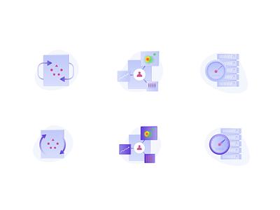 All-In-One Optimization suite adobe icons dashboard plan heatmap testing website web dailyui icon ui creative vector dribbble illustrator graphic concept graphic design design illustration