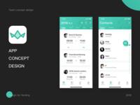 Team app design