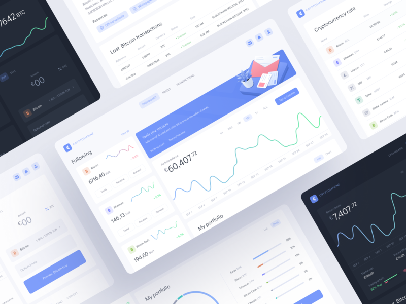 Cryptocurrency exchange platform userinterface uiux trading token minimalism interface finance exchange dashboard dark theme dark mode cryptocurrency coin clean design analytics chart blockchain bitcoin analytics illustration mentalstack