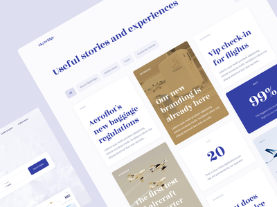 Charter flights rent application search plane user interface homepage article blog trip travel rent booking ui kit uiux app product design website mentalstack