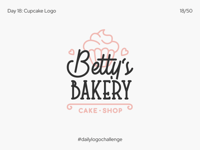 Cupcake Logo words fonts stamp modern minimal mark label identity emblem dailylogodesign branding badge vector sweet illustration bakery logo cake dailylogo dailylogochallenge