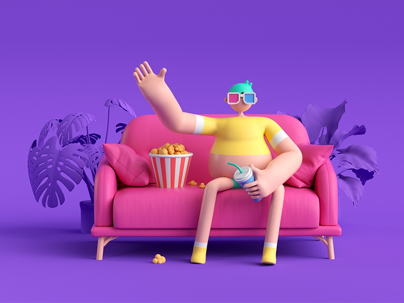 Watch movie c4d
