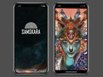 Samskara design web development ux ui mobile android app development development daydream userinterface android app android virtual reality vr interaction interface application