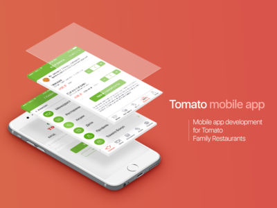 TOMATO interface mobileapplication mobileapp design android ios application