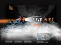 Harley Davidson - Web page Design