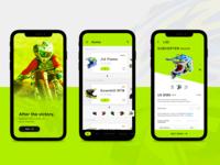 E-commerce Helmet App Design