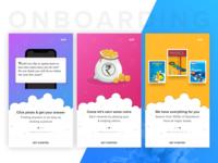 User Onboarding Screens