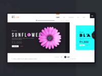 Landing Page - Flower & Gifts Retailer
